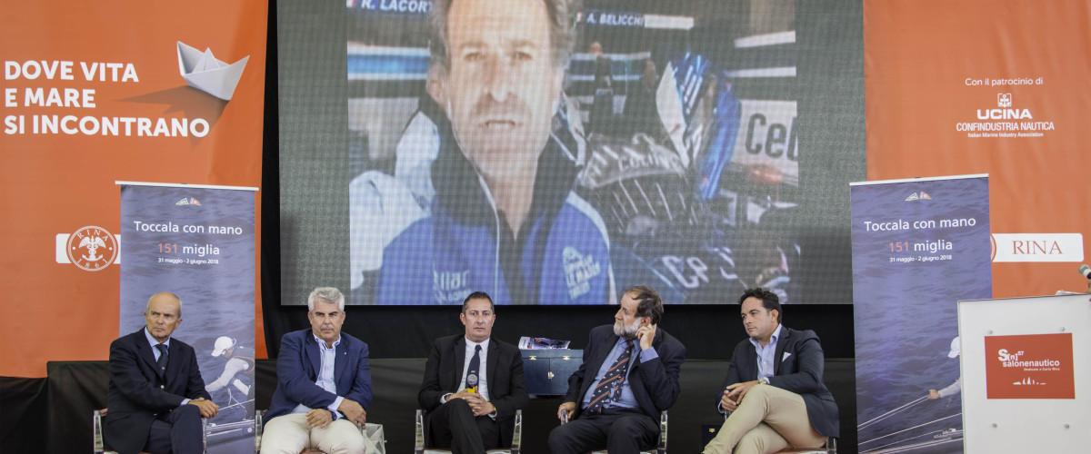 (Italiano) Presentata al Salone Nautico di Genova la 151 Miglia 2018