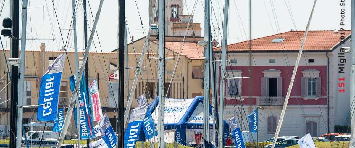 Pronti per il primo week end della 151 Miglia al Porto di Pisa