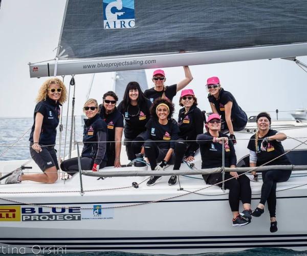 A sostegno del progetto Women's Sailing Cup & Academy in favore di AIRC