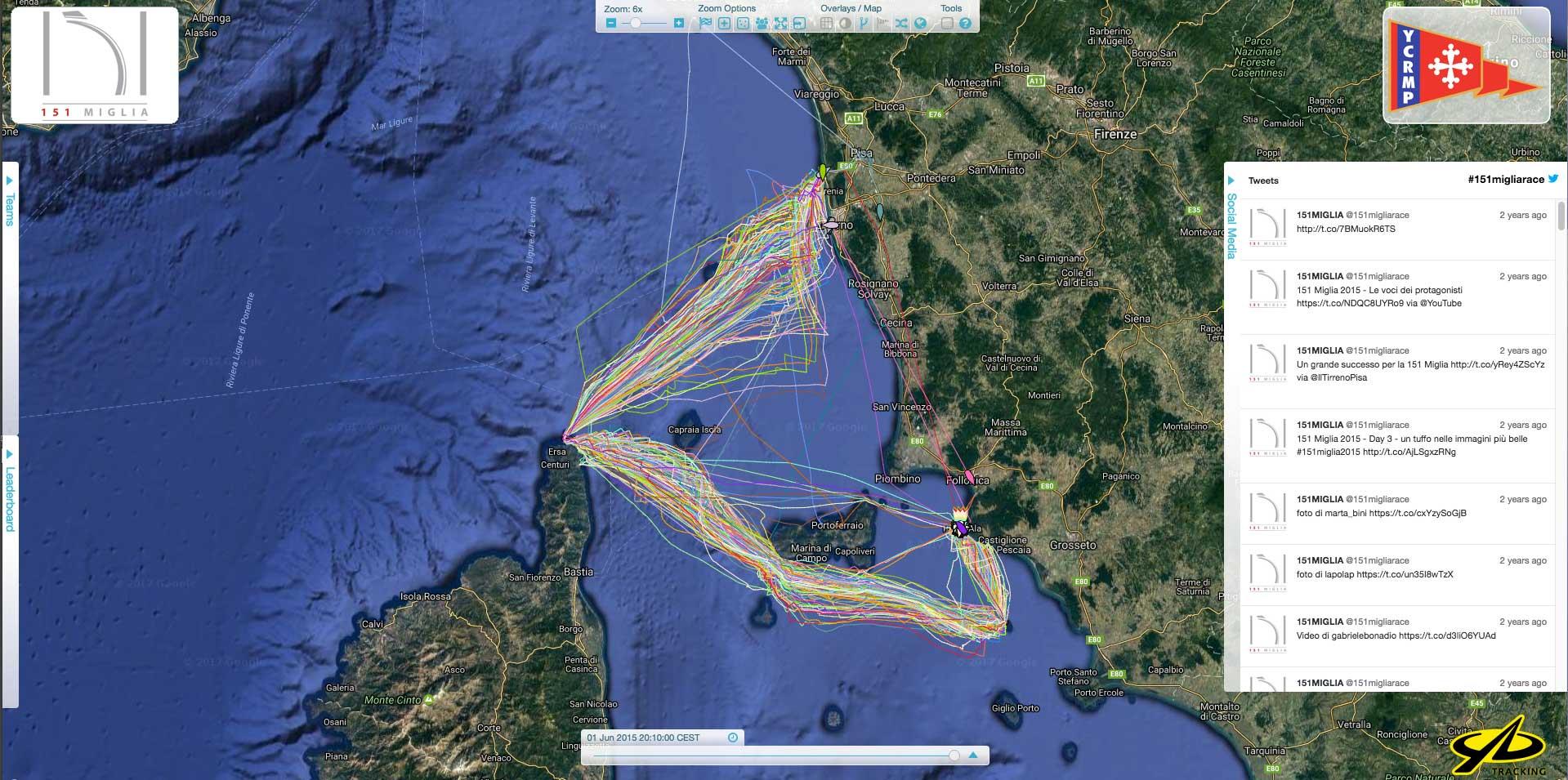 151miglia_tracciato_YB_Tracking